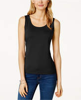 Charter Club Petite Sleeveless Shell, Only at Macy's