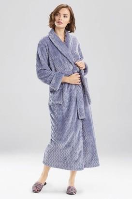Natori Plush Geo Robe