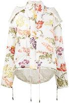 Rosie Assoulin reversible floral print puffer jacket