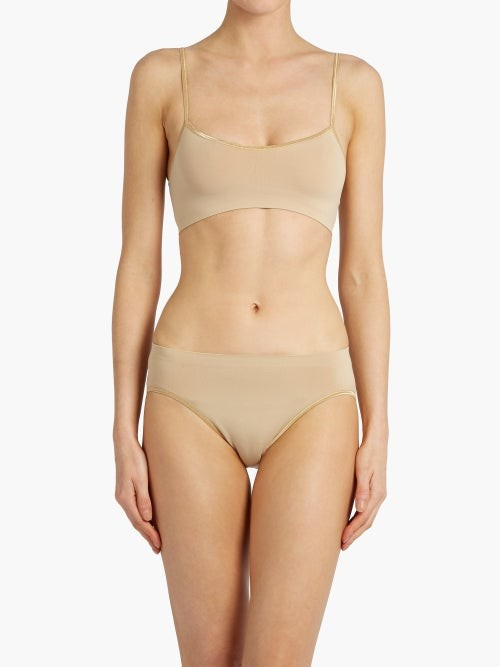 Thumbnail for your product : Hanro Touch Feeling Soft-cup Bra - Nude