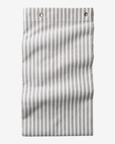 Toast Ticking Stripe Shower Curtain