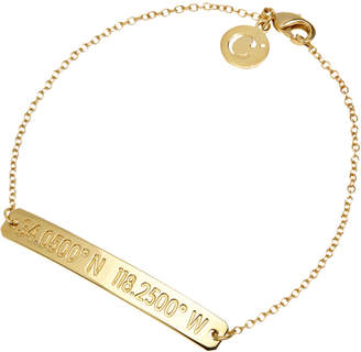 Coordinates Collection 22k Gold-Plated Nile Pendant Bracelet