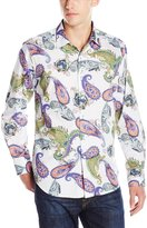 Robert Graham Men's Apple Valley Long Sleeve Button Down Shirt, Multi