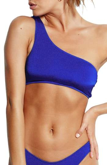 Seafolly Stella One-Shoulder Bikini Top