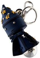 Prada Saffiano Wizard Keychain
