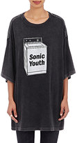 R 13 Women's Cotton-Blend Sonic Youth T-Shirt-BLACK