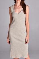 Michele Taupe Knit Dress