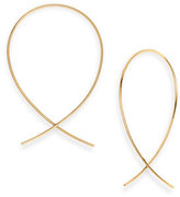 Lana Women's 'Upside Down' Small Hoop Earrings