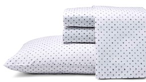 ED Ellen Degeneres Watercolor Dots Sheet Set, Full