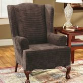 Sure Fit Sure FitTM Royal Diamond Wing Chair Slipcover