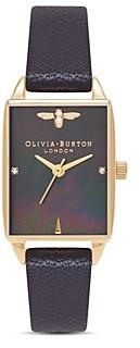 Olivia Burton Beehive Black Watch, 20.5mm x 25.5mm
