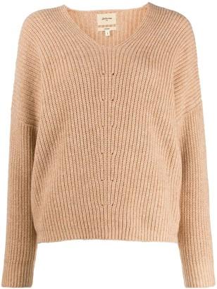 Bellerose V-neck knitted jumper