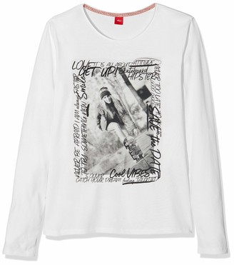 S'Oliver Girl's 66.908.31.8680 T-Shirt