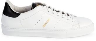 Roberto Cavalli Firenze Leather Sneakers