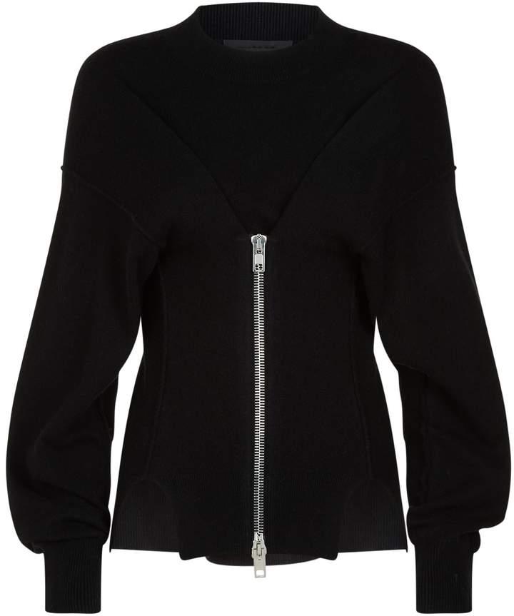 Alexander Wang Zip Detail Sweater