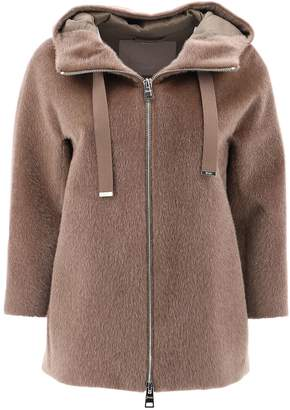 Herno Hooded Zipped Jacket