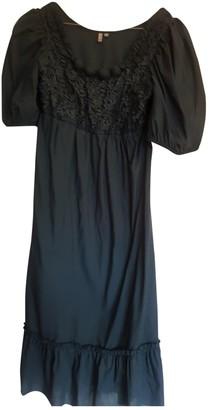 Lm Lulu Green Cotton Dress for Women