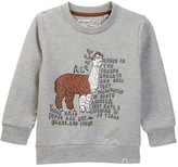 Sovereign Code Zoo Alpaca Print Sweatshirt (Toddler & Little Boys)