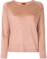 Missoni metallic knit top