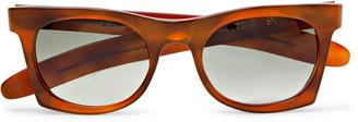 Kirk Originals Erno Square-Frame Acetate Polarised Sunglasses