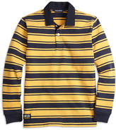 Brooks Brothers University Stripe Cotton Rugby