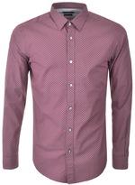 HUGO BOSS Black Ronni 44 Shirt Pink