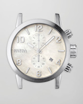 Brera Steel Round Chronograph Head
