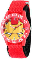 Marvel Boys Red Iron Man Time Teacher Plastic Strap Watch W003247