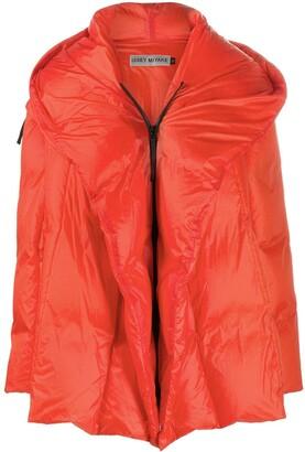Issey Miyake Detachable-Sleeve Down Jacket