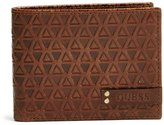 GUESS Hector Triangle-Embossed Billfold