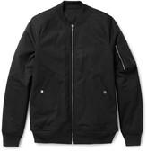 Rick Owens - Stretch-cotton Bomber Jacket