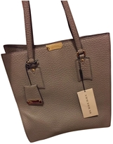 Burberry Leather Shopping Bag