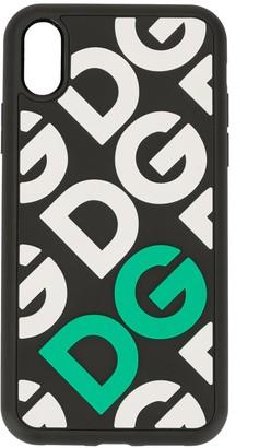 Dolce & Gabbana Mania logo iPhone XR phone case