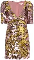 For Love & Lemons sequin embellished fitted dress