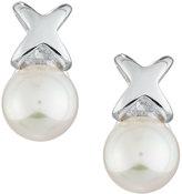 Majorica Infinity Pearl Stud Earrings, 6mm