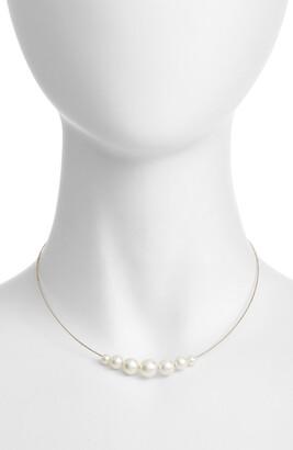 Poppy Finch Pearl Choker Necklace
