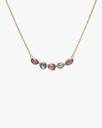 Gurhan Elements Hue Sapphire Bar Necklace