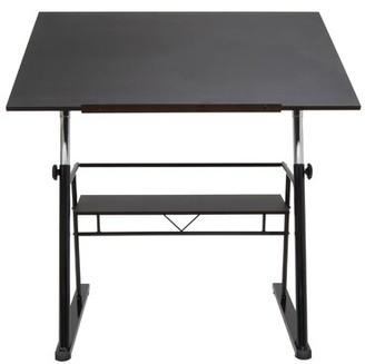 Studio Designs Zenith Height Adjustable Drafting Table Color: Black
