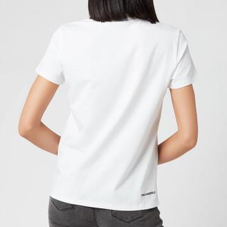 Karl Lagerfeld Paris Women's Ikonic Rhinestone T-Shirt