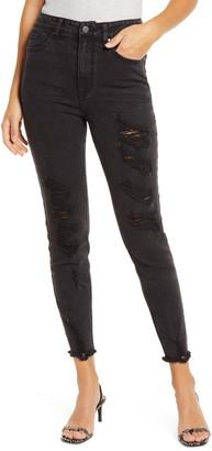 Tinsel Distressed Skinny Jeans