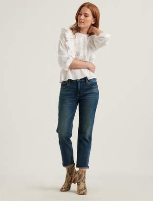 Lucky Brand Mid Rise Sienna Slim Boyfriend 4-Way Stretch Jean