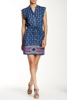Angie Cap Sleeve Drawstring Waist Dress