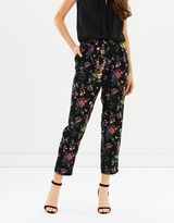 Oasis Royal Worcester Print Trousers