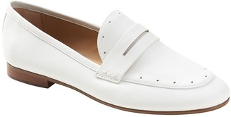 Banana Republic Demi Perforated Penny Loafer