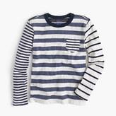 J.Crew Boys' long-sleeve mash-up T-shirt