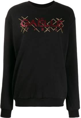 Gaelle Bonheur logo print sweatshirt