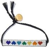 Venessa Arizaga Rainbow Hearts Bracelet