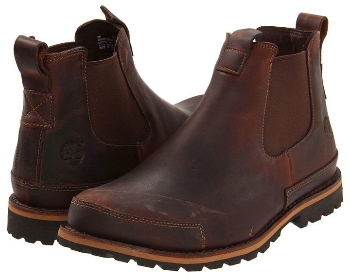 Timberland Earthkeepers Original Chelsea Boot (Medium Brown Leather) - Footwear