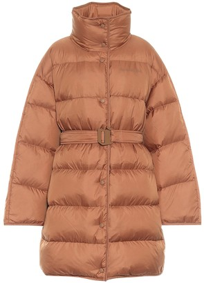 Acne Studios Belted down coat