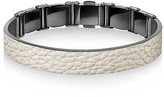 Calvin Klein Collection Grain Calf Strap Bracelet